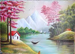 simple sceneries paintings scenery oil painting 17730327 dd34b6f1 489d 4dc2 a42b f628593c7874