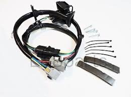 land rover lr tow hitch trailer wiring wire harness kit lr  image is loading land rover lr4 tow hitch trailer wiring wire