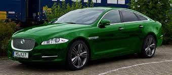 Green Jaguar Xj X351 Jaguar Xj Jaguar Car Black Jaguar Car