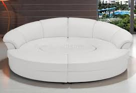 Sofas Center : Stirring Circlectional Sofa Photo Concept Circular  Pertaining To Round Sectional Sofa Bed (