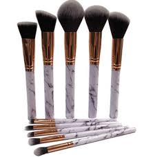 marble makeup brushes. 10pcs marble makeup brush collection set cosmetic for brand cosmetics tools brushes o