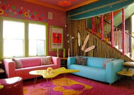 bright living room paint colors floor to ceiling book shelves sliding glass doors pink sectional sofa spacious space that modern cushions