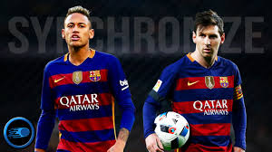 Goals Bt Ween Messi And Neymar Jr Lionel Messi Neymar Jr Synchronize Skills Goals Tricks 1 115616