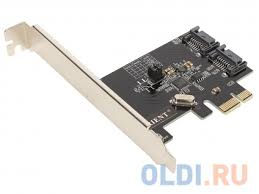 <b>Контроллер Orient</b> A1061RAID, <b>PCI</b>-<b>E</b> v2.0 SATA 3.0 6 Gb/s, 2int ...