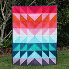 Color Explosion Flying Geese Tutorial | FaveQuilts.com &  Adamdwight.com