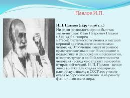 Реферат Иван Петрович Павлов ru Банк рефератов  И п павлов реферат