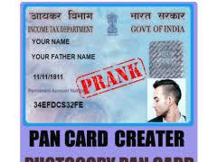 Pan Fake Fake Pan Card India