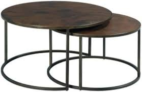 nesting end tables. Hammary Furniture Sanford Round Nesting Coffee Tables End B