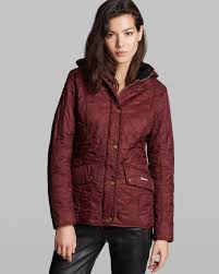 Barbour Jacket - Chromatic Quilted in Red | Lyst & Gallery. Previously sold at: Bloomingdale's · Women's Quilted Jackets Adamdwight.com