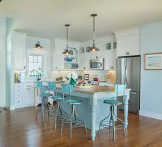 Coastal Kitchen Awesome Coastal Kitchen White Color Scheme Nautical Pendant White