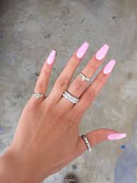 Pink Nail Designs Tumblr Pin By Toy Jordan On Nailed It In 2020 Pink Acrylic