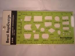 Flow Chart Templates Best Berol Rapidesign Flow Chart Symbols Template R44b EBay