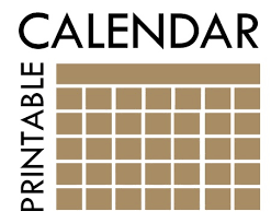 Printable Event Calendar Event Calendars Garfield County Libraries
