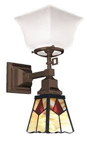 ceiling lights arts crafts craftsman mission wall sconces