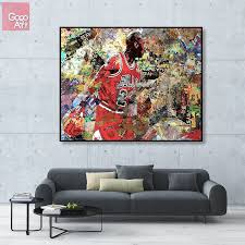 wall art michael jordan