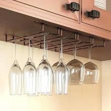 wine glass rack ikea. Stemware Rack Ikea Wine Glass Oil Rubbed Finish Under Cabinet Hanger Storage In