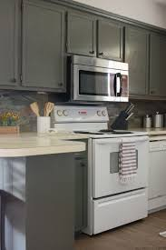 Superb How To Update Old Kitchen Cabinets   Kitchen Remodel On A Budget!