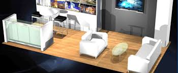 Tradeshow Furniture Exhibit Design that can t be Overlooked