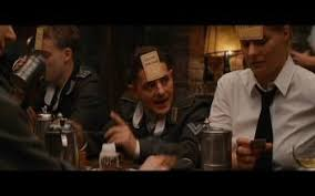 inglorious basterds comparison international version german  r rated 1 12 46 the scene the waitress mathilda is now shown in the us version as well 7 44 sec