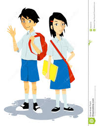 Image result for free students in uniform clipart