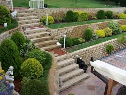 Small Picture Excellent Garden Retaining Wall Ideas With Additional Home