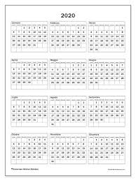 Calendario 2020 36ld Michel Zbinden It