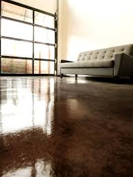 Stained Concrete Kitchen Floor How To Apply An Acid Stain Look To Concrete Flooring How Tos Diy
