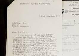 noticias sobre alan turing el pais halladas 148 cartas ineditas de alan turing el padre de la inteligencia artificial