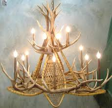 top 68 first rate hampton bay antler chandelier with lamp lighting cast and deer how