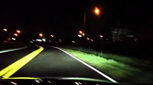 car driving at night headlights. Contemporary Driving Inside Car Driving At Night Headlights YouTube