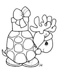 Candy cane coloring page by dover publications. Cute Christmas Animal Coloring Pages Coloring Home