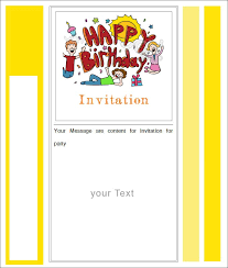 28 Inspirational Birthday Invitation Templates Free Download