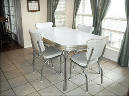 1950 dining chairs chrome dinette set vintage 1950s chrome dining regarding 1950 kitchen table and chairs