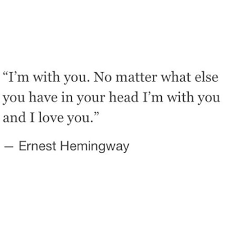 Hemingway Quotes On Love Simple Hemingway Quotes On Love Impressive Quotes About Love For Him Omg