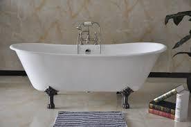 incredible freestanding cast iron soaking tub 72 freestanding bathroom cast iron bathtub nh 1022 2 elegant