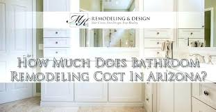 Home Remodeling Costs How Much Does Bathroom Cost Estimator