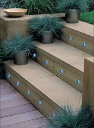 steps lighting. Home Interior: The Truth About Outdoor Stair Lighting Fresh Solar Lights For Deck Steps Garden