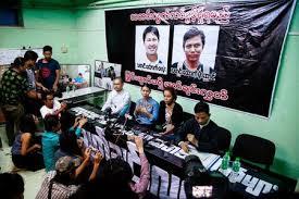 Resultat d'imatges de Wa Lone et Kyaw Soe Oo