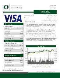 Visa Interchange Chart 2016 Visa Report Revised