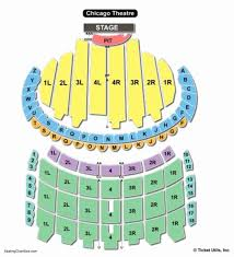 Cadillac Palace Theatre Chicago Illinois Seating Chart 47 All Inclusive The Chicago Theater Seating
