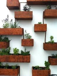 diy wall planters outside wall planters exterior wall planters outdoor planter designs outdoor wall planters diy
