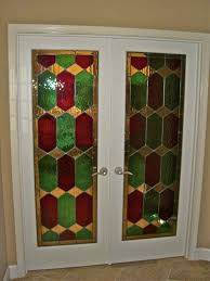glass door inserts camelot stained sans soucie