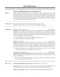 Resume Objective For Paralegal paralegal resume objective luxsosme 94
