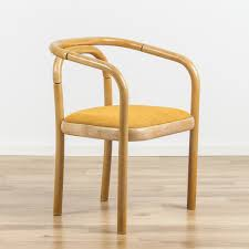 bentwood dining chair. Vintage Beech Bentwood Dining Chair From TON, 1970s O