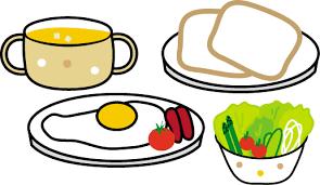 食事のイラスト(健康・医療)/無料イラスト・フリー素材2
