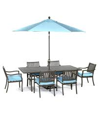 aluminum dining sets patio furniture. holden outdoor aluminum 7-pc. dining set (84. furniture sets patio g