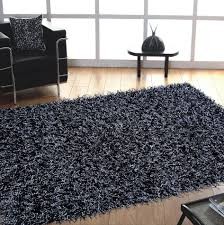 jovi safari black medium size fur area rug dark grey medium size modern fur