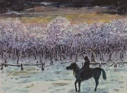 analysis and explanation of stopping by woods on a snowy evening stanza 4