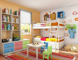 nursery furniture for small rooms. Bedroom Round Hang Lamp 3 Door Wardrobe White Dotted Bed Sheet Yellow Small Kids Best Rooms Nursery Furniture For