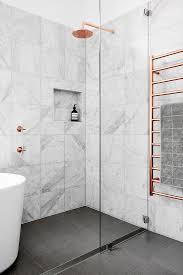 elba wall, charcoal floor | Homey/Decor i 2019 | Minimal bathroom ...